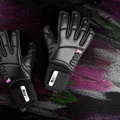 BU1 All Black NC brankářské rukavice