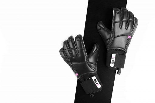 BU1 All Black Roll Finger brankářské rukavice