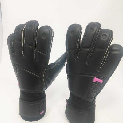 Brankářské fotbalové rukavice BU1 All Black Roll Finger NEW