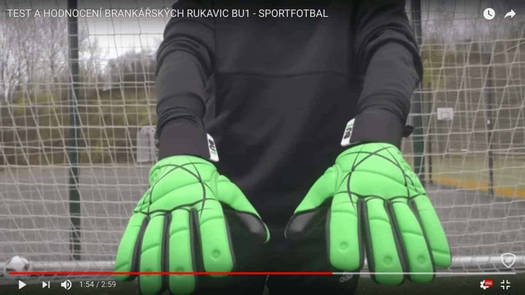 BU1 rukavice pro sportfotbal
