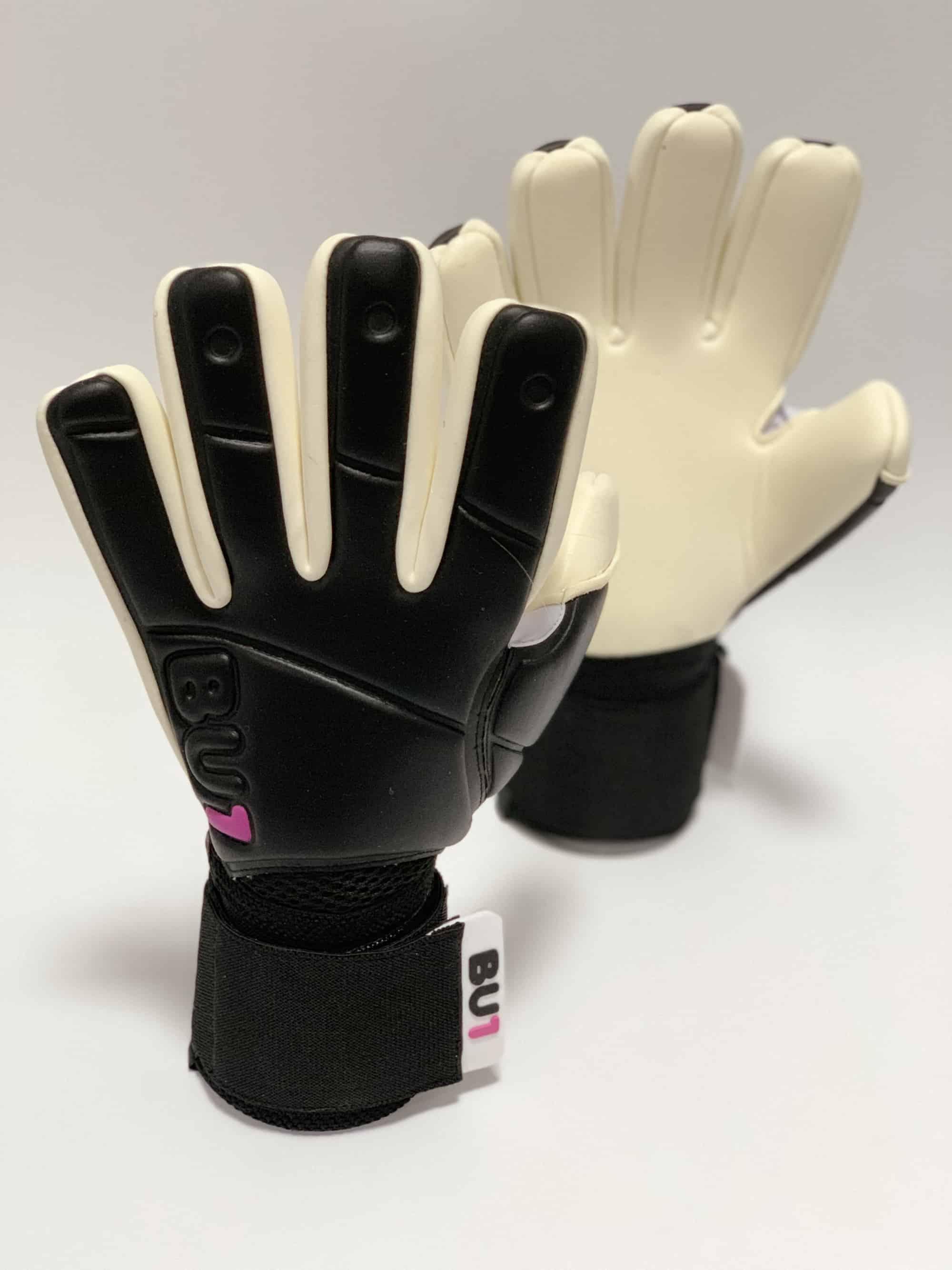 Fotbalové brankářské rukavice BU1 BW NC střih 3beba5ffc3