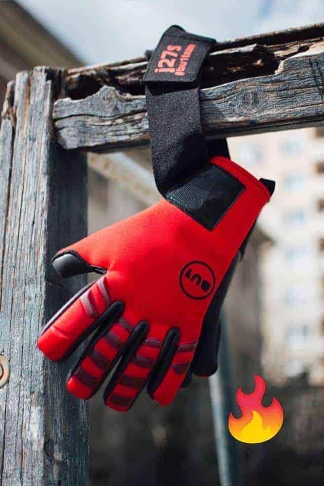 Brankářské rukavice BU1 Neo Red NC