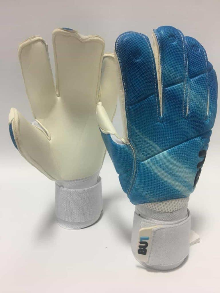 BU1 Blue zlomeny prst brankarske rukavice