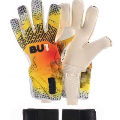 BU1 FIT Yellow NC brankářské rukavice
