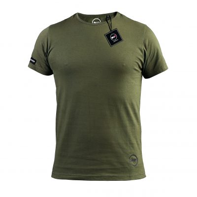 BU1 tričko zelené khaki