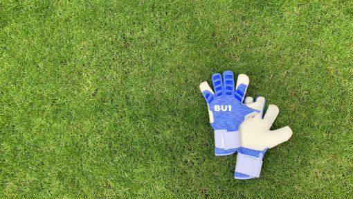 Fotbalové brankářské rukavice BU1 Signal Blue