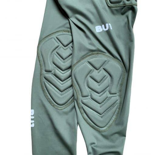 BU1 vyztužené legíny khaki