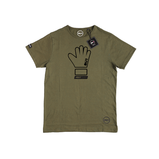BU1 tričko zelené rukavice