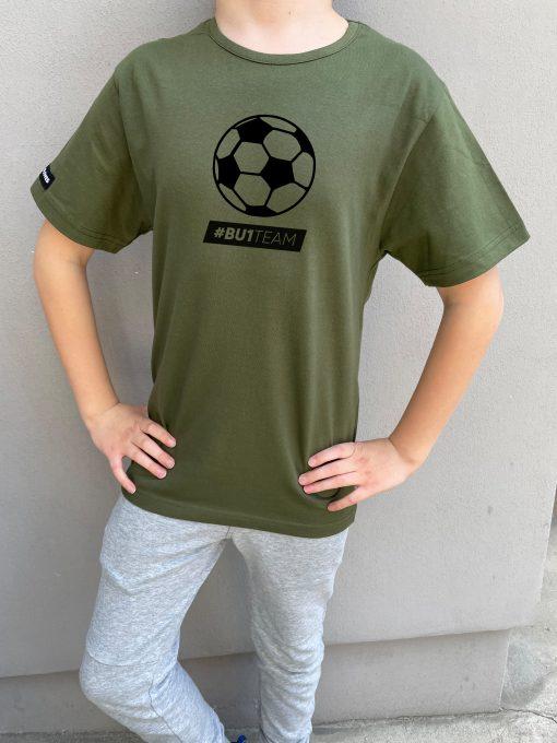 BU1 tričko zelené míč dětské