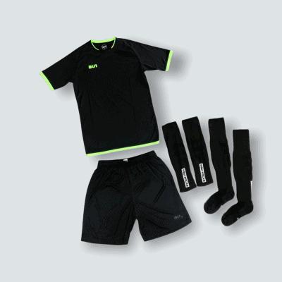 BU1 set dres trenýrky štulpny černý