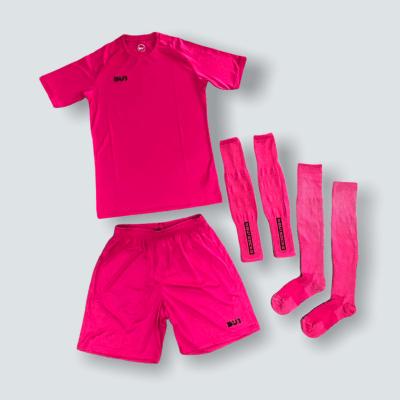 BU1 set dres trenýrky štulpny růžový