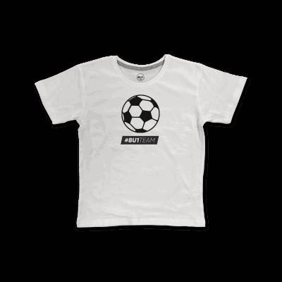BU1 tričko bílé míč dětské