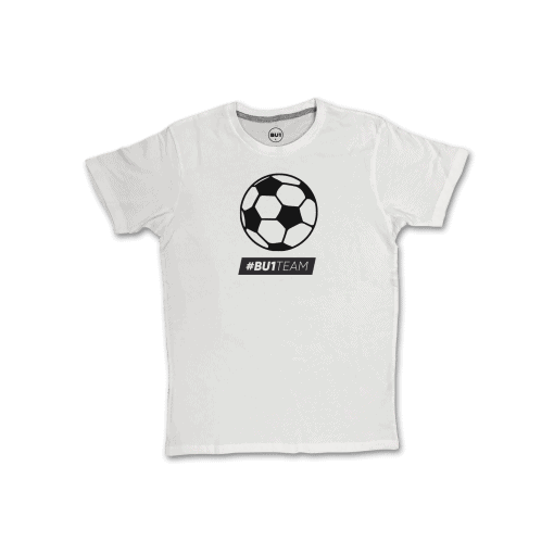 BU1 tričko bílé míč pánské