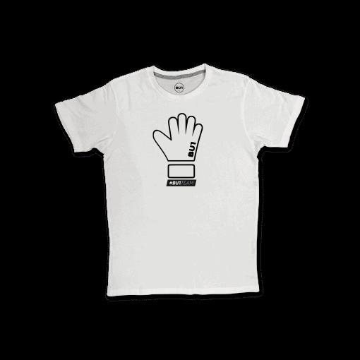 BU1 tričko bílé rukavice pánské