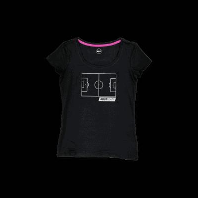 BU1 tričko černé hřiště dámské