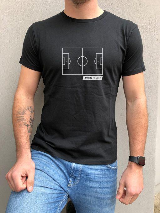 BU1 tričko černé hřiště pánské