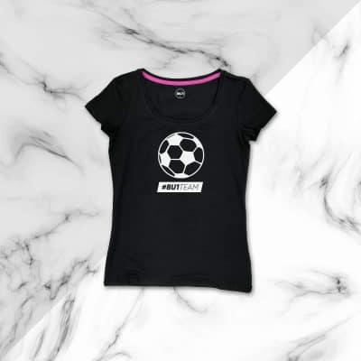 BU1 tričko černé míč dámské