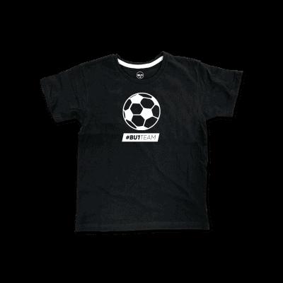 BU1 tričko černé míč dětské