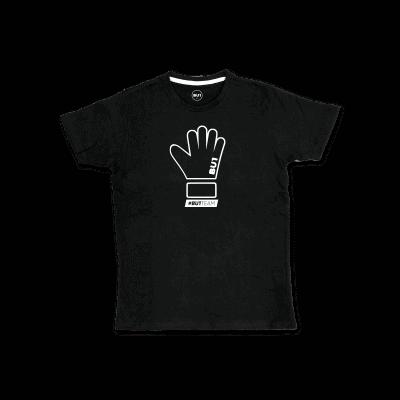 BU1 tričko černé rukavice pánské