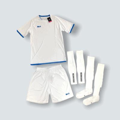 BU1 set dres trenýrky štulpny bílý