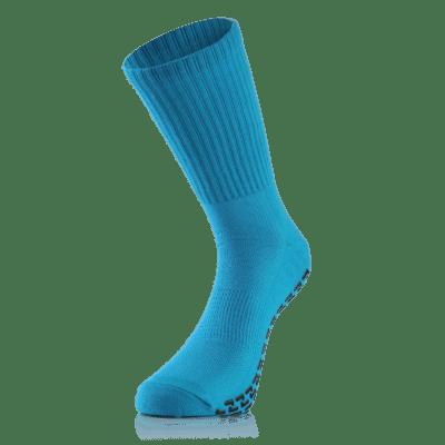 BU1 ponožky modré protiskluzové silikon