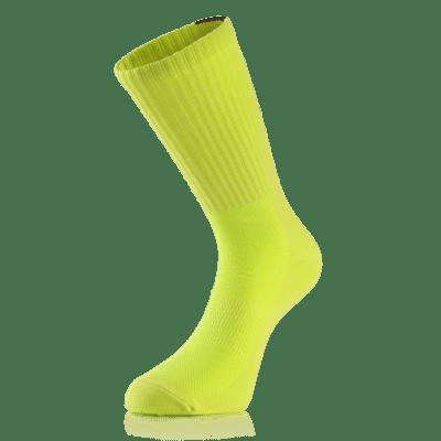 BU1 ponožky neonově žluté sportovní