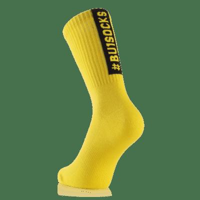 BU1 ponožky žluté sportovní